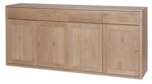 London dressoir in massieve eik