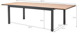 Table extensible Oviedo
