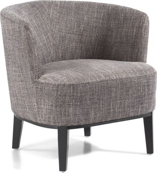 Toscane fauteuil in Dot stof Black