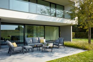 Cirello loungeset met weather+ Softtouch kussens