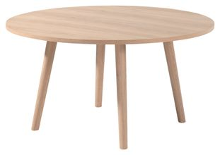 Table Conico avec plateau de table Orto en chêne naturel