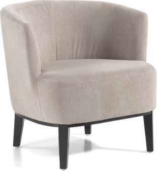 Toscane fauteuil in Bliss stof Mist