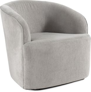 Umbrie fauteuil in Bliss stof Smoke
