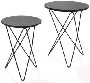 Set de 2 tables d'appoint Kochi