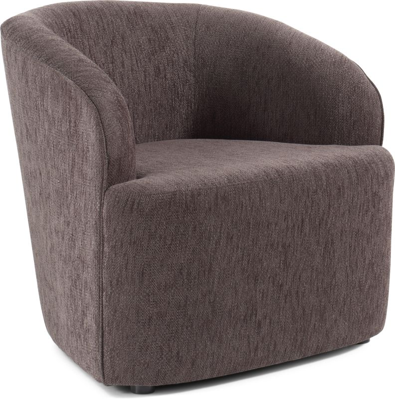 Umbrie fauteuil in Sprint stof Black/Brown