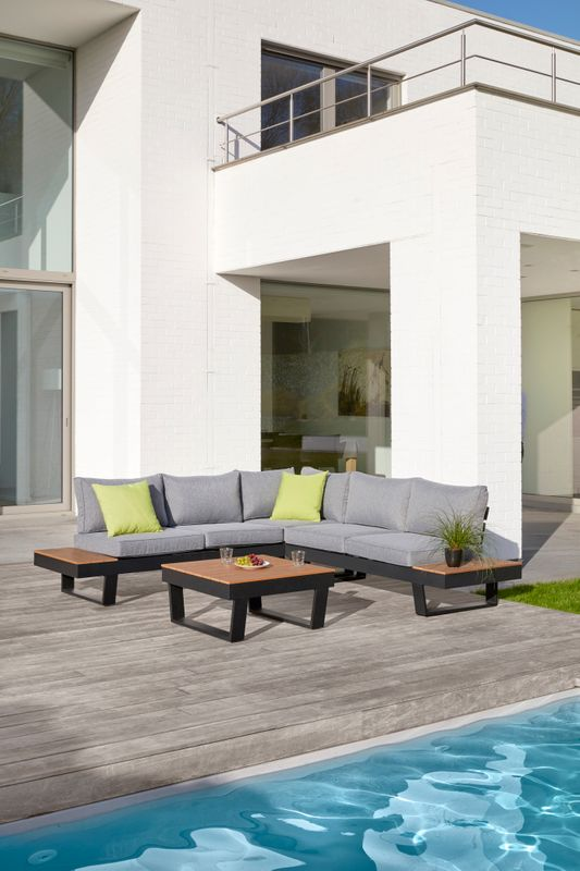 Coin lounge complet Alora polywood