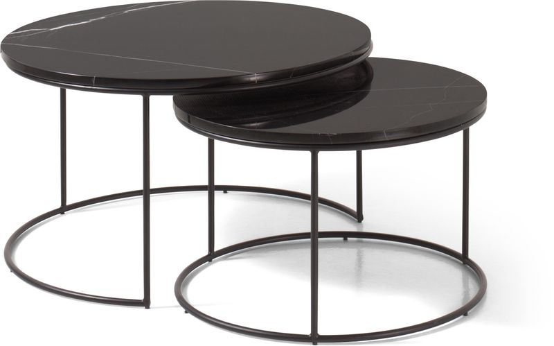Set de 2 tables de salon Juno